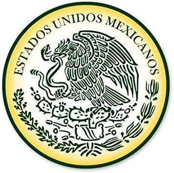 New Mexico State Seal USA Car Bumper Sticker Decal 5/'/' x 5/'/'