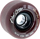Blood Orange Morgan 70mm 82a Maroon Skateboard Wheels (Set of 4)