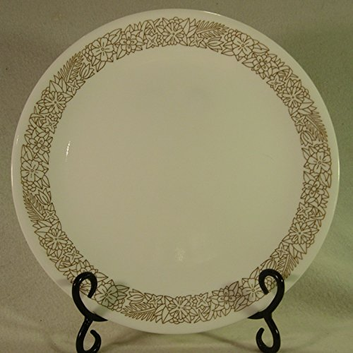 Corelle Woodland Brown Pattern Single Replacement Dinner Plate