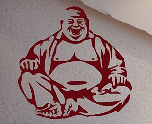 Happiness Laughing Buddha Amulet Buddhism Rubber Stamps Wood Stamps Rubber Stamps Rubber-Stamp