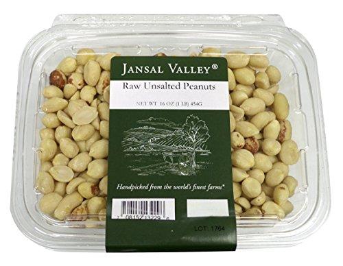- Jansal Valley Raw Unsalted Peanuts, 1 Pound