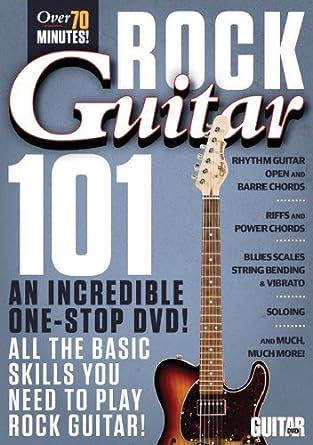 Guitar World -- Rock Guitar 101: An Incredible One-Stop DVD! All ...
