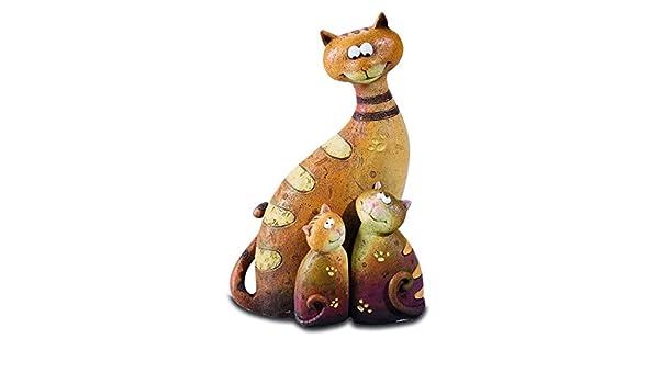 Katerina Prestige - Figura - Conjunto de 3 Gatos decoración C, na0503: Amazon.es: Juguetes y juegos