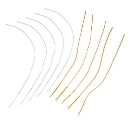 10x Nylon Braided Fly Fishing Line Braided Loop Connector Loops 50 lbs