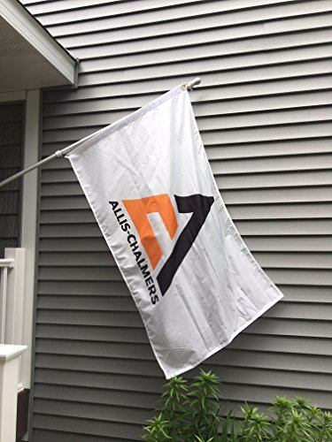 Allis-Chalmers Tractor Logo Flag, 3'x5' (Alis Tractor)