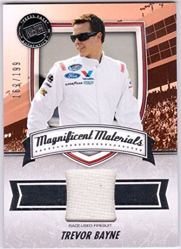 TREVOR BAYNE 2011 Fanfare Magnificent Materials Race for sale  Delivered anywhere in USA