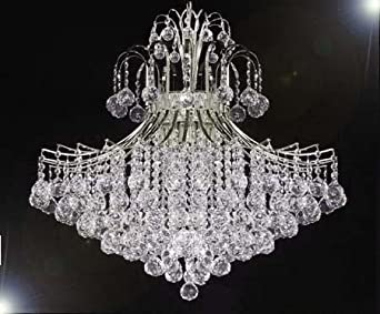 French Empire Empress Crystal tm Chandelier Lighting H30 X W24