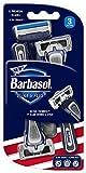 #9: Barbasol Premium Disposable Ultra 6 Plus Razor, 3 Count