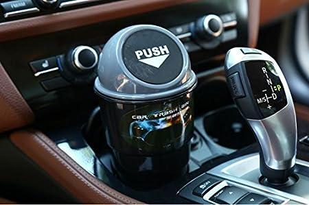 1 pc PME Mini Cup-Shaped Trash Bin Auto Car Trash Rubbish Can Garbage Swing Lip Gargage Can