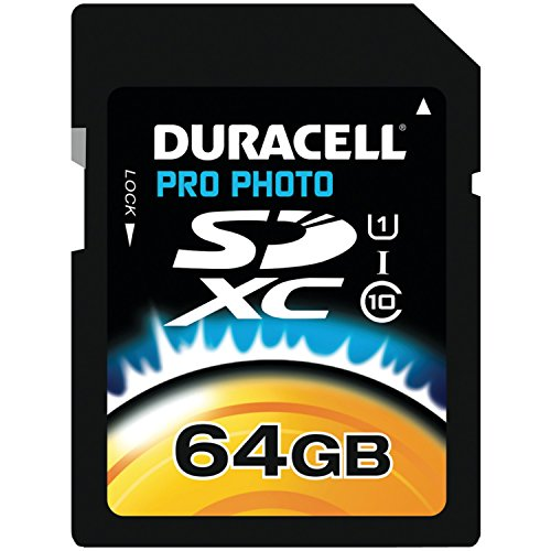 UPC 804272737622, Duracell 64GB Class 10 UHS-1 U1 Prime SD XC Memory Card Up to 45MB/s [Compatible with Canon EOS Rebel T5 T5i T6 T6i 80D 6D SL1 Nikon D3300 D5500 D5600 D7200 D750 Sony Pentax Kodak Olympus Panasonic]