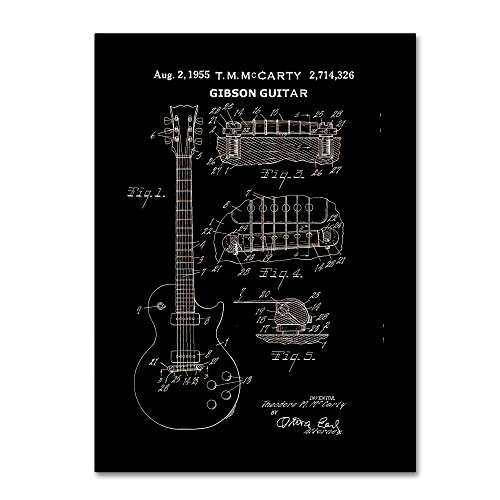 electric guitar drawing - 2