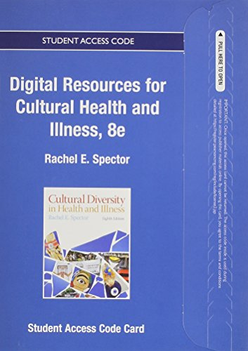 Textbook Resources for Cultural Diversity in Health and Illness -- Access Card