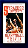 Syracuse University Basketball Trivia, Mike Greenstein, 155770063X
