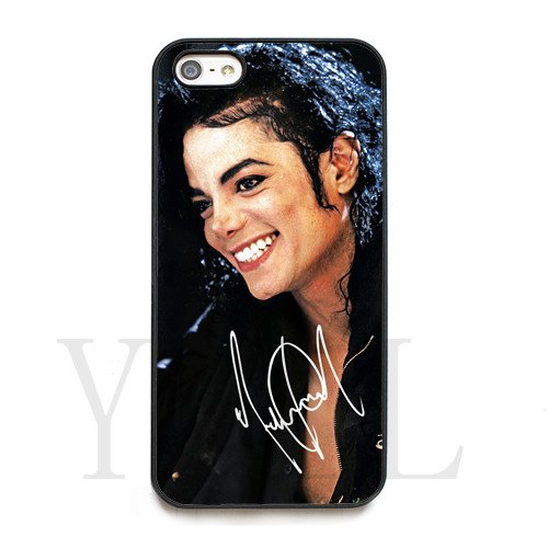 [Michael Jackson signed HD image phone cases for iPhone 5/5s(Hard ABS Material)] (Michael Jackson Black Or White Costume)