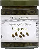 Jeffs Natural Imported Non Pareil Capers, 6 Ounce - 6 per case.