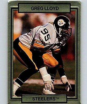 official photos 4965e b4e13 Amazon.com: 1990 Action Packed #227 Greg Lloyd Steelers NFL ...