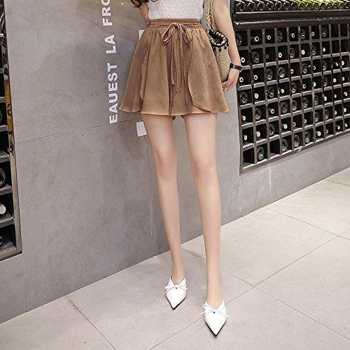 STTS Pure Sauvages Shorts de Sangle R Sauvages Larges Larges Couleur Sangles de de Femelle Mousseline M Lache qBwqxrUCT