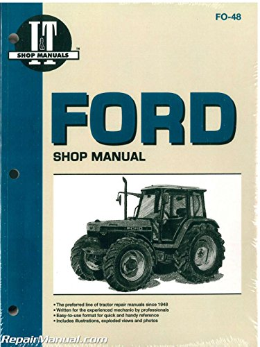 FO-48 Ford New Holland 5640 6640 7740 7840 8240 8340 Tractor Workshop Manual