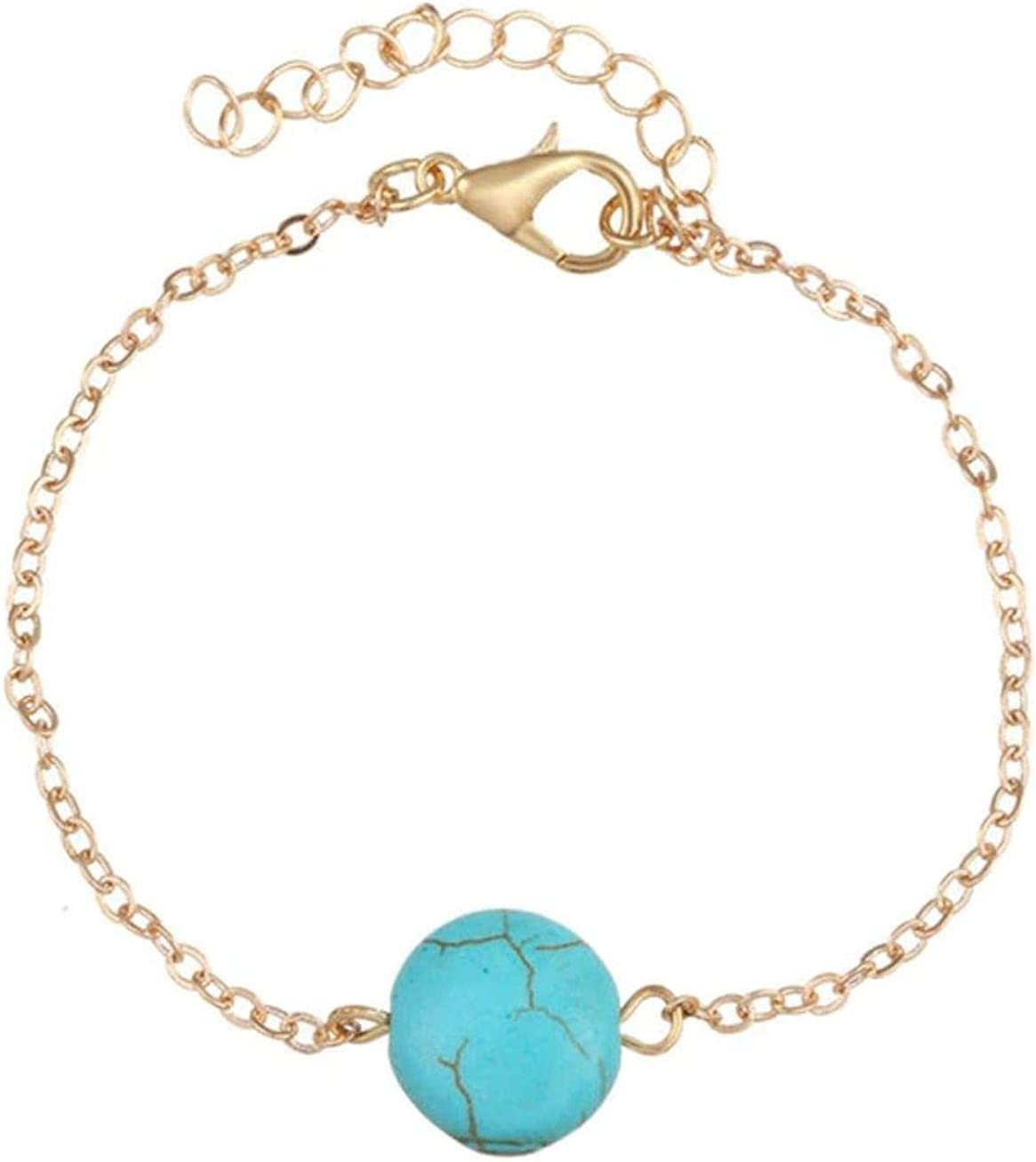Ahava Avenue Women Girl ANKLETS Bracelets Gold /& Silver Color Adjustable for Women-Beach Bracelet Anklet