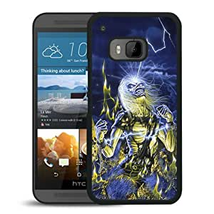 Popular HTC ONE M9 Case ,Beautiful And Unique Designed With Iron Maiden 2 Black HTC ONE M9 Cover