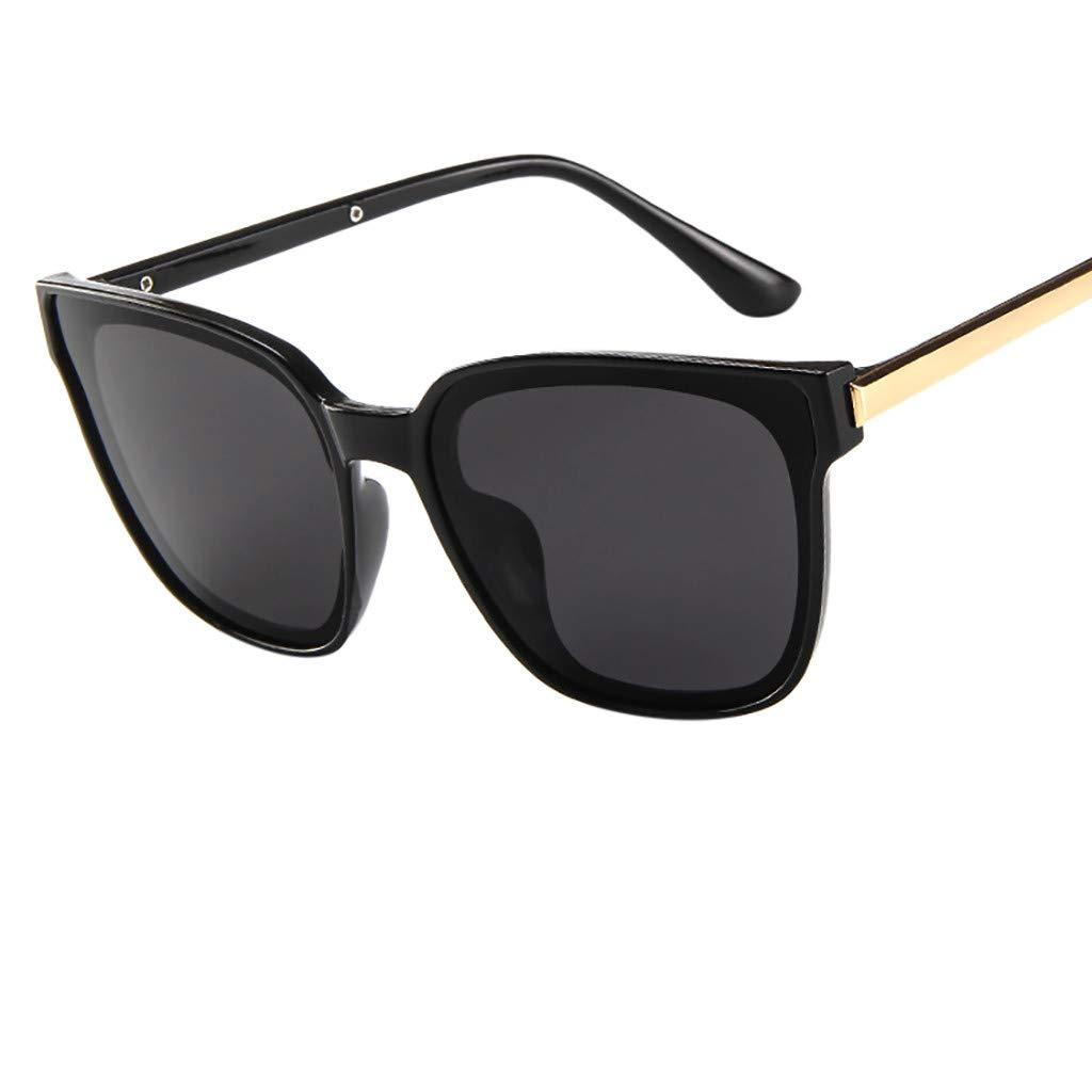 Stoota Polarized Fashion Sunglasses,Mirrored Lens Goggle Eyewear