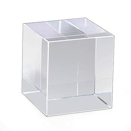 Mirart Clear Acrylic Cube (2