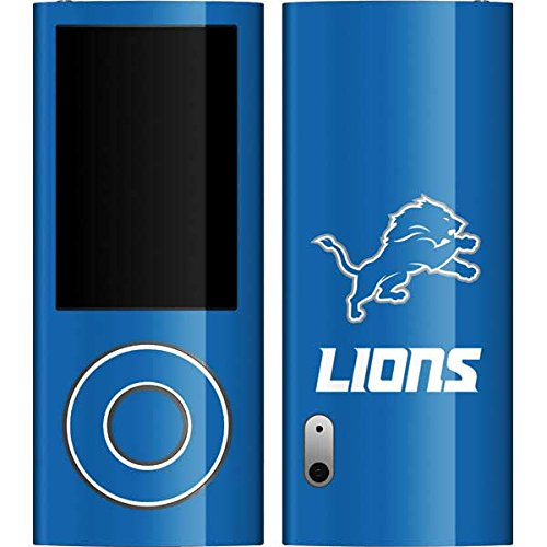 Skinit Detroit Lions Distressed Vinyl Skin for iPod Nano (5G) Video (5 Lions Case Ipod Detroit)