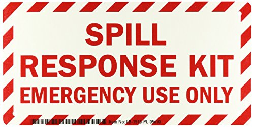 Emergency Spill Kits (SmartSign Plastic Sign, Legend