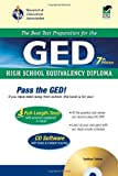 img - for GED w/ CD-ROM (REA) - The Best Test Prep for the GED: 7th Edition (Test Preps) book / textbook / text book