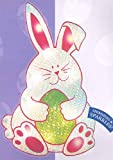 Northlight  Lighted Shimmering Easter Bunny Window Silhouette Decoration, 17