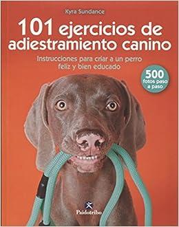 101 ejercicios de adiestramiento canino Animales de Compañía: Amazon.es: Kyra Sundance: Libros