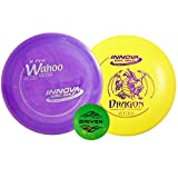 Disc Golf Starter Set (Floating Set - Dragon & Wahoo (colors vary))