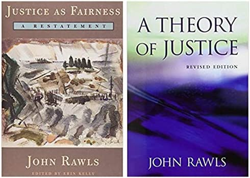 A Theory Of Justice Revised Edition As Fairness Restatement Set 2 Books