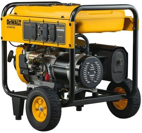 DEWALT PM0167000.02 DXGNR7000 7,000-Watt Portable Generator 50-ST/CARB, Red 51u 2BBZecHqL