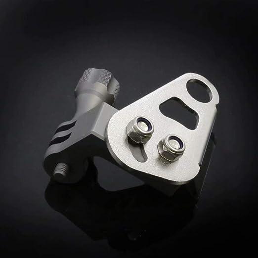Universal Motorrad Kamerahalterung F/ür Gopro Action CamRack Sport Kamera Halterung Spiegel Montage