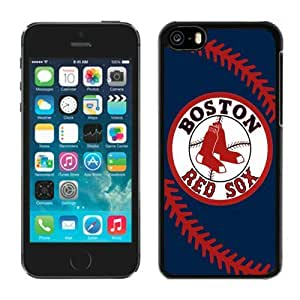 iPhone 5C Protective Case MLB Boston Red Sox Phone Case For iPhone 5c 5th Generation Case 01_16115 by runtopwell