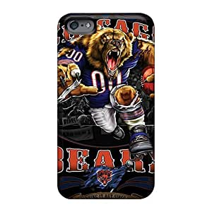 Casesbest88 Apple Iphone 6 Plus Bumper Cell-phone Hard Covers Support Personal Customs Realistic Chicago Bears Series [Dgi119OnTm]