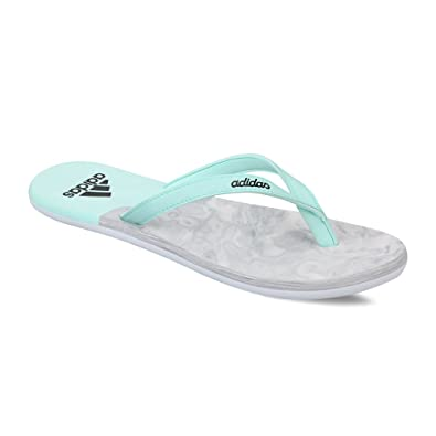 new style 2e762 a8803 Adidas Womens Eezay Ice Cream W Icegrn, Cblack and Halpin Flip-Flops and  House Slippers - Flip Flops - Plastic Moulded - 4 UKIndia (36.67 EU) Buy  Online ...