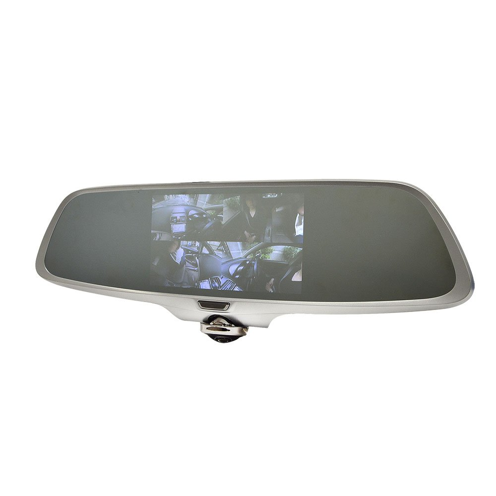 サンコー ミラー型360度全方位ドライブレコーダー リアカメラ付き CDVR36RC B078YL4FNW