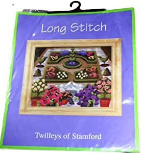 Twilleys of Stamford Long Stitch Embroidery Kit Formal Garden Linda Randell