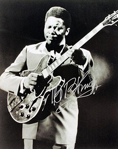 BB B.B. King reprint signed blues legend photo #2 RP