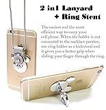 AccessoryHappy Mickey Ear 2 in 1 Phone Lanyard & Ring...
