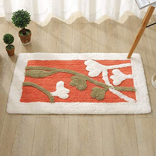 Rugs Letter Woven Kid Floor Small Bath Rug for Girls Bedroom Carpets Outdoor Kitchen High Grade ()