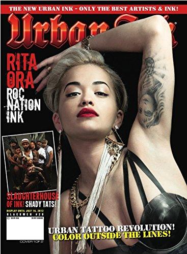 Urban Ink Tattoo Magazine (Oct 2012) Rita Ora