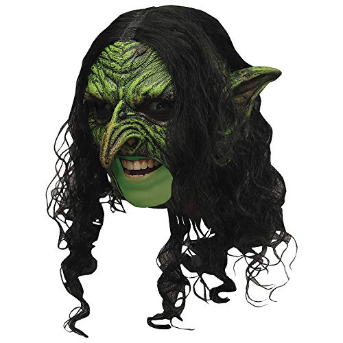 Fun Express - Wicked Chinless DLX Mask for Halloween - Apparel Accessories - Costume Accessories - Masks - Halloween - 1 ()