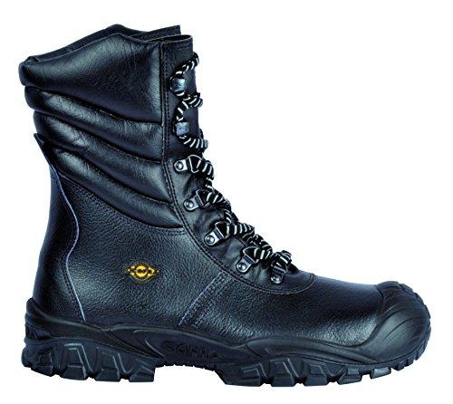 """Cofra NT 030-000.W44 taglia 44 S3 SRC, CI """"New Russia"""", scarpe di sicurezza, colore: nero"""