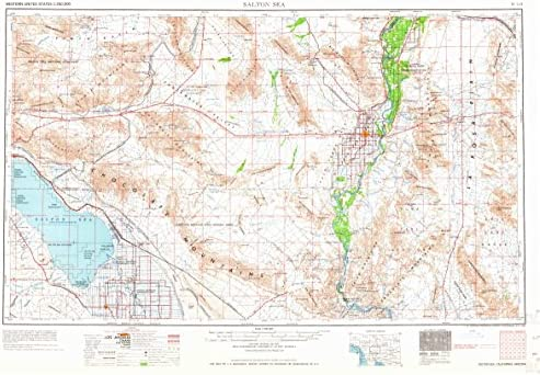 Amazon.com : YellowMaps Salton Sea CA topo map, 1:250000 ... on lake minnetonka on a map, van nuys on a map, caspian sea on a map, el capitan on a map, santee on a map, grand coulee dam on a map, golden gate bridge on a map, imperial valley on a map, imperial beach on a map, marina del rey on a map, owens lake on a map, tehachapi on a map, aral sea on a map, newberry springs on a map, colorado river on a map, sea of galilee on a map, hemet on a map, california city on a map, san joaquin river on a map, palo verde on a map,