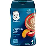 Gerber Oatmeal and Peach Apple Baby Cereal, 8 Ounce (Pack of 6) Review