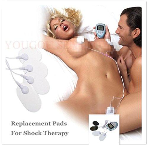 Yancorp Nipple Stimulator Shock Therapy Clitoris Vibrator Massager Elctrode Pads