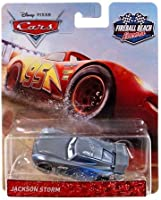 DISNEY PIXAR CARS FIREBALL BEACH RACERS RICHIE GUNZIT 1//55 SCALE VHTF